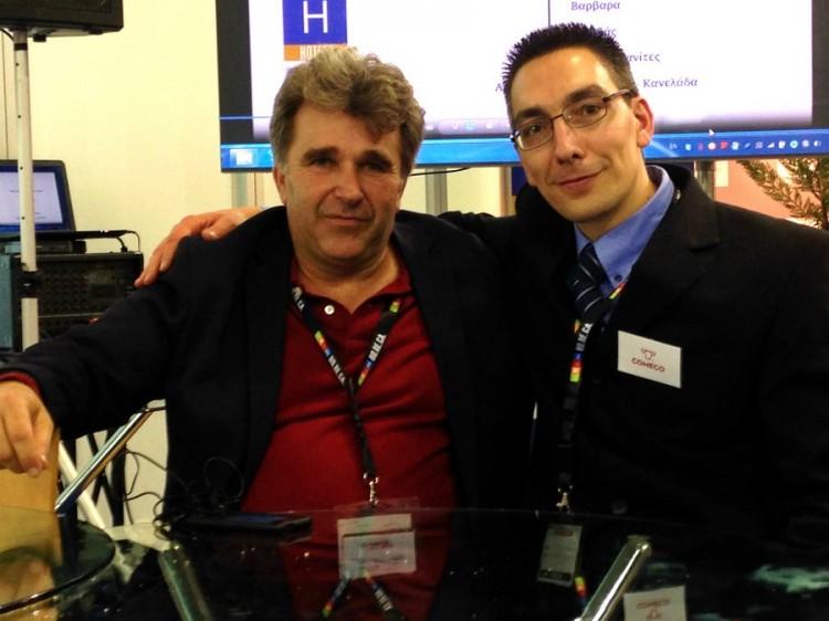 "H COMECO μαζί με το δίκτυο ""Η Κέρκυρα Παράγει"" στην HORECA 2014"